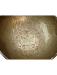 Tibetan Masterpiece Garuda Singing Bowl 15 Inch