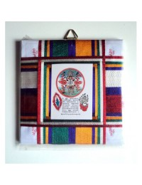 Large Tibetan Door Protector - (Protection Mantra to be kept on entrance)
