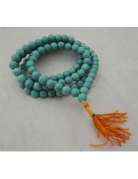 Turquoise 108 Beads Prayer Mala for Meditation
