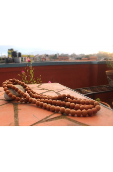 108 Beads (12mm) Bodhi Seed Natural Tibetan Prayer Mala