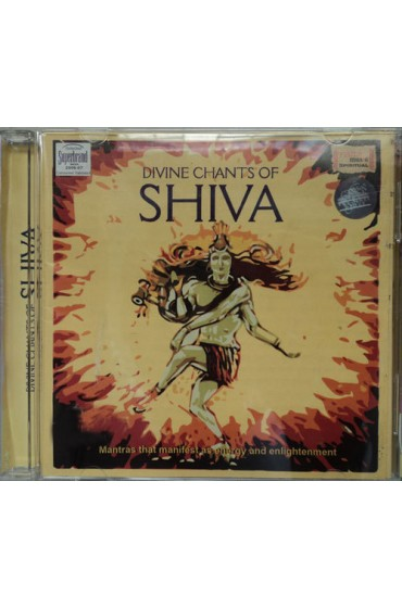 Divine Chants of Shiva Meditation Audio CD