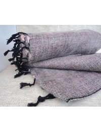 Himalayan Yak Wool Grey color Shawl