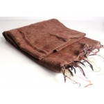 Himalayan Yak Wool Brown Shawl
