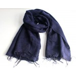 Himalayan Yak Wool Blue color Shawl